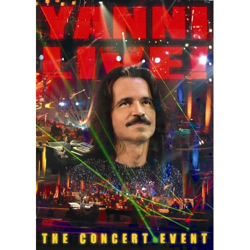 yanni the concert event dvd: